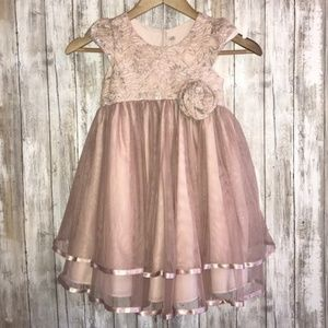 Little Girl's Lace Tulle Dress